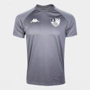Camisa Kappa Botafogo Waves Supporter Chumbo
