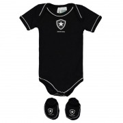 Kit Body Botafogo Preto