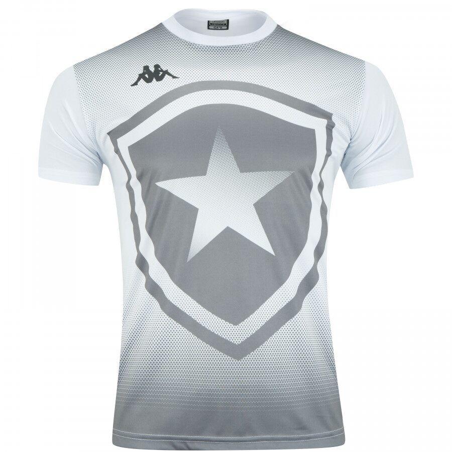 Camisa Botafogo Kappa Escudo Branca