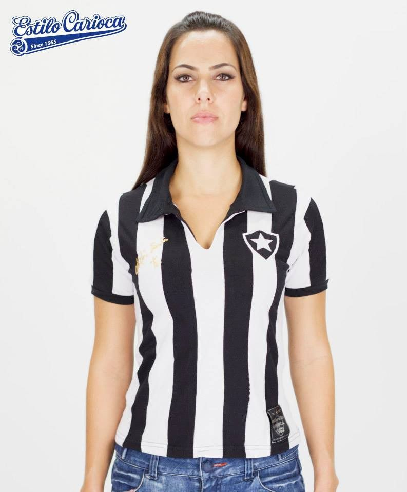Camisa Botafogo Nilton Santos Feminina