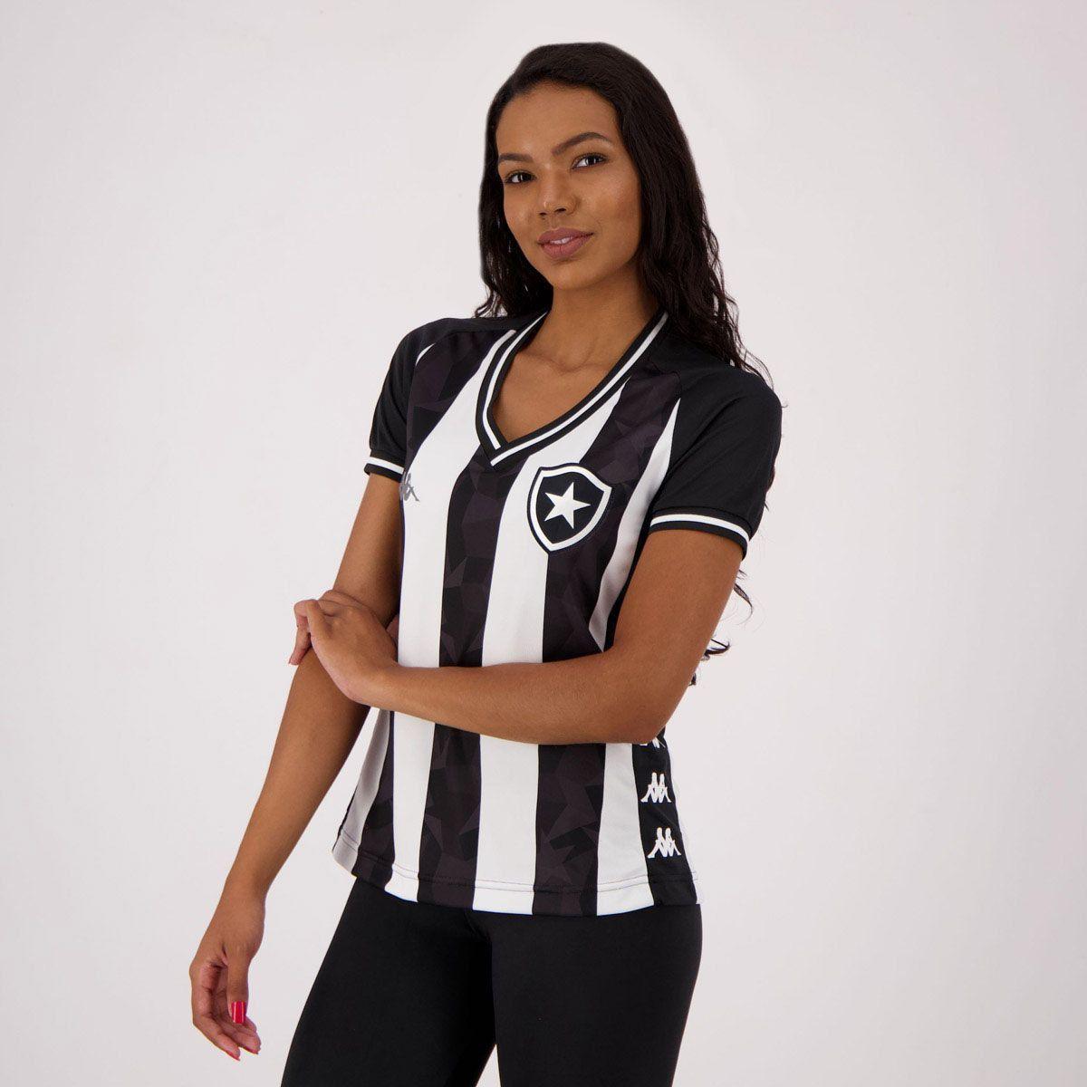 Camisa Kappa Botafogo I 2019 Feminina