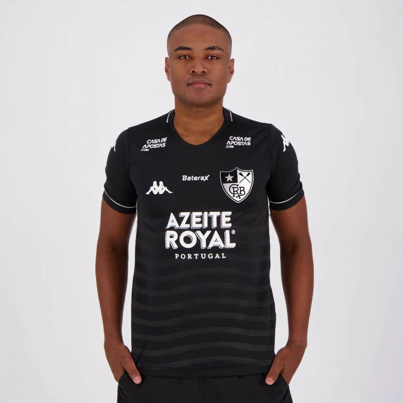 Camisa Kappa Botafogo II 2019 com Patrocínio