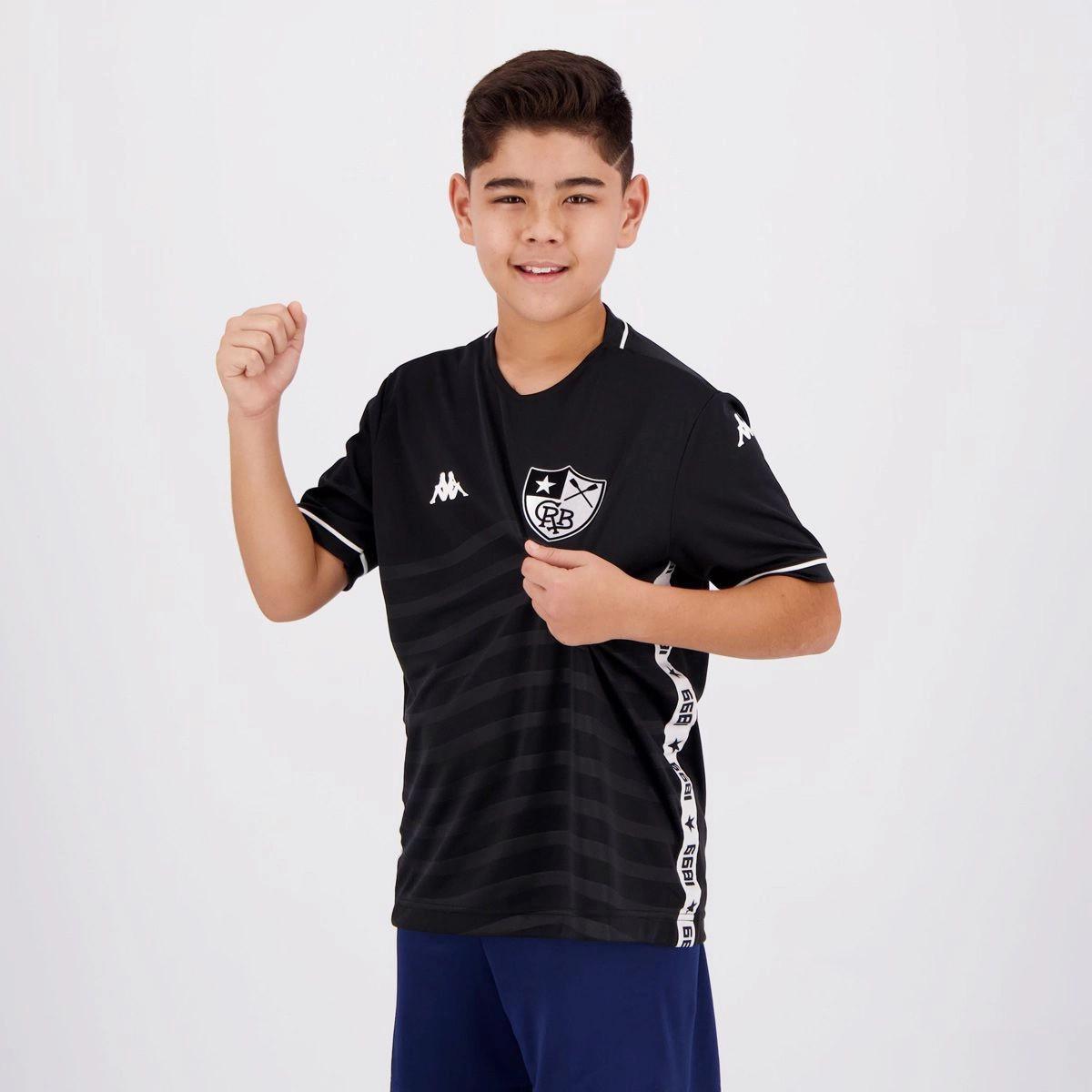 Camisa Kappa Botafogo II 2019 Juvenil