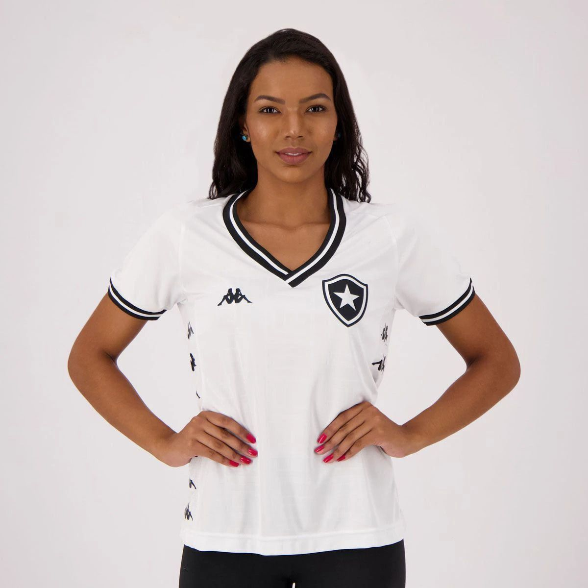 Camisa Kappa Botafogo III 2019 Feminina
