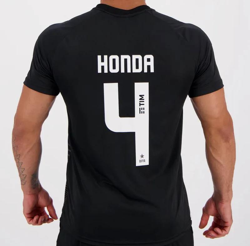 Camisa Kappa Botafogo Waves Supporter 4 Honda