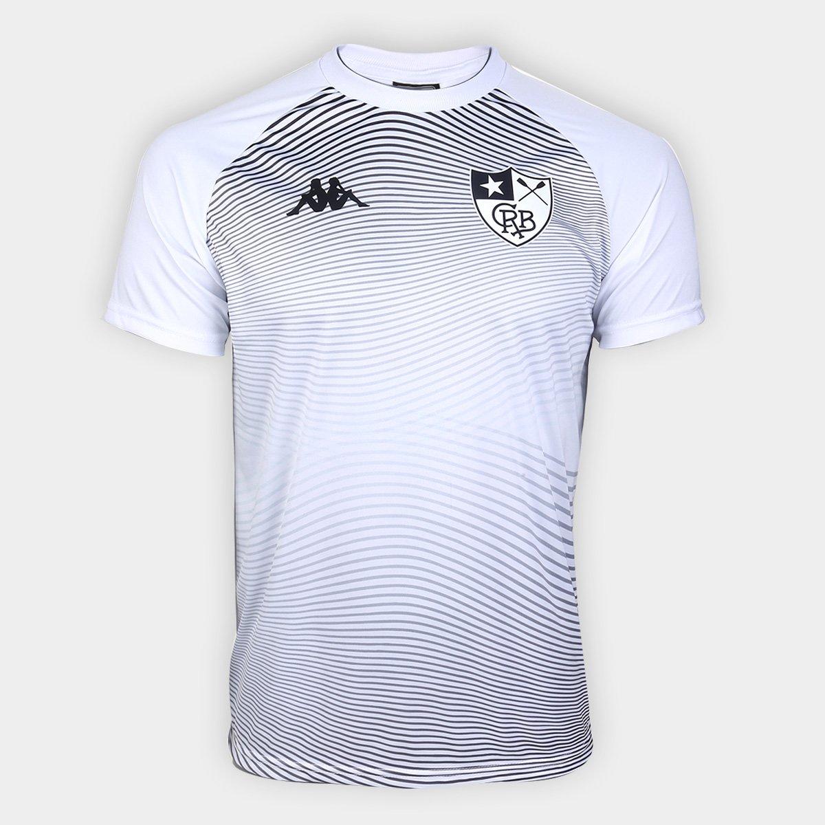 Camisa Kappa Botafogo Waves Supporter 4 Honda Branca