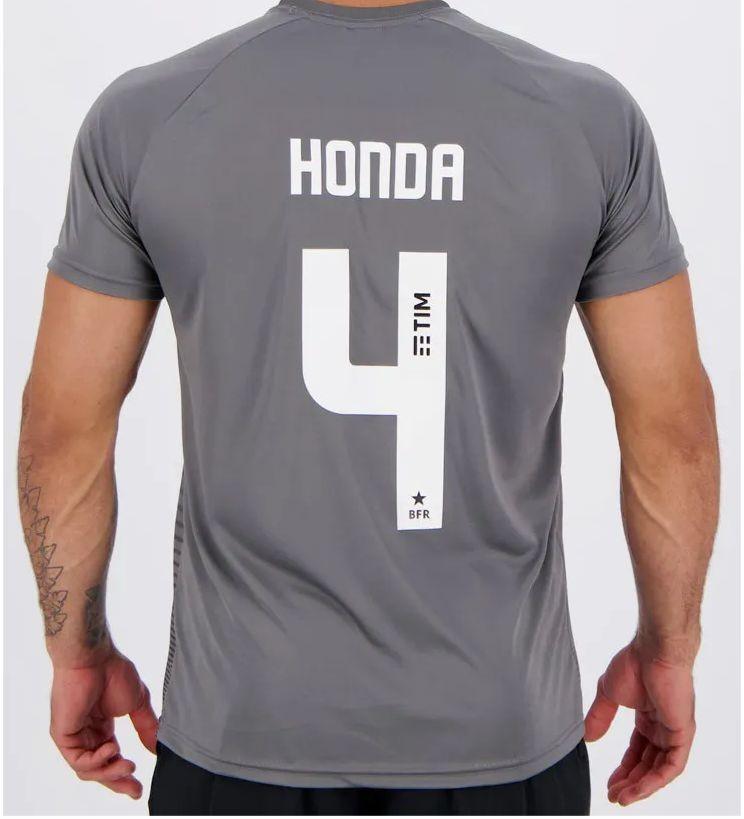 Camisa Kappa Botafogo Waves Supporter 4 Honda Chumbo