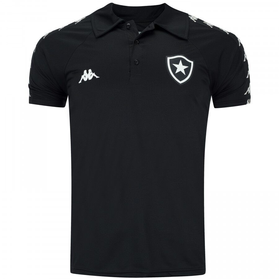 Camisa Polo do Botafogo Viagem Kappa - Masculina