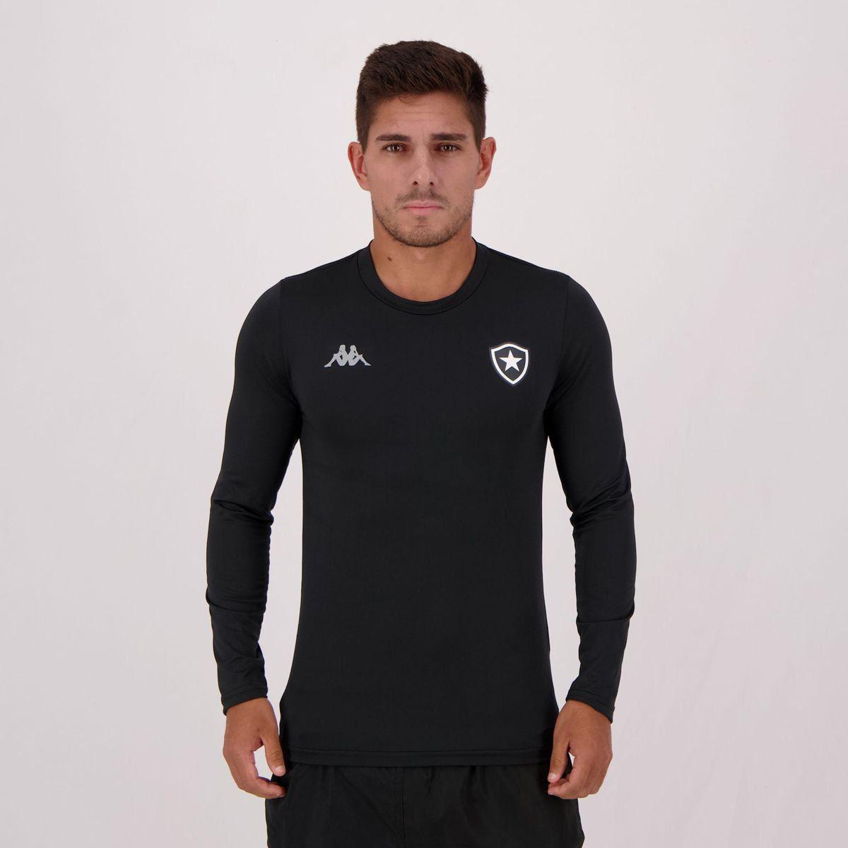 Camisa Térmica Kappa Botafogo Preta