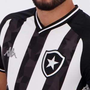 Camisa Kappa Botafogo I 2019 8 Kalou Especial