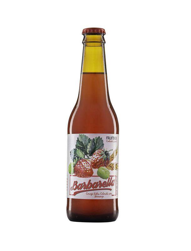 Cerveja Barbarella Morango 355ml