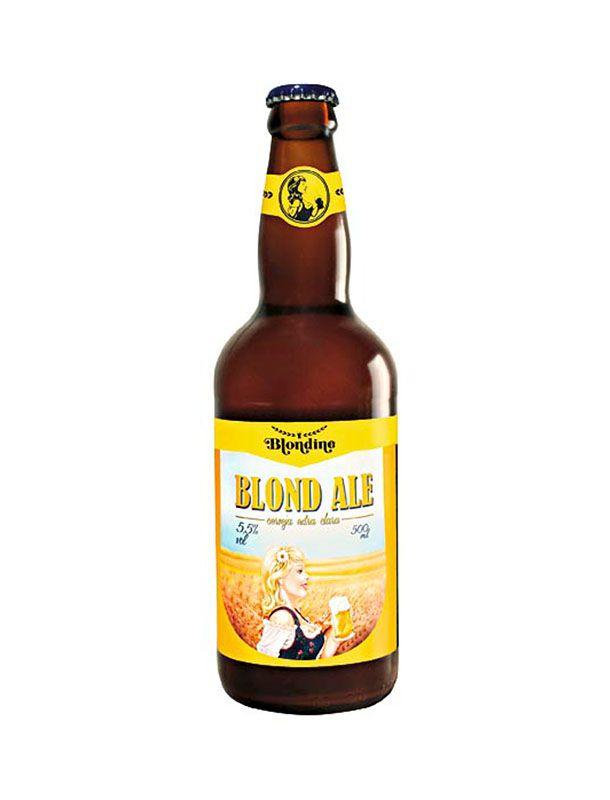 Cerveja Blondine Blond Ale 500ml