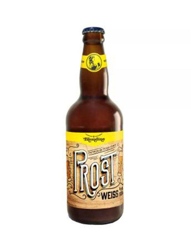 Cerveja Blondine Prost Weiss 500ml