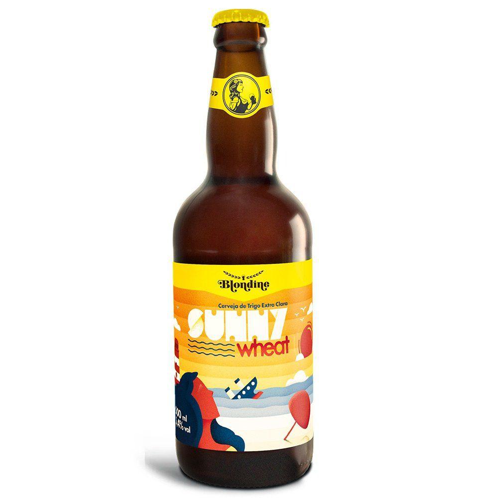 Cerveja Blondine Sunny Wheat 500ml