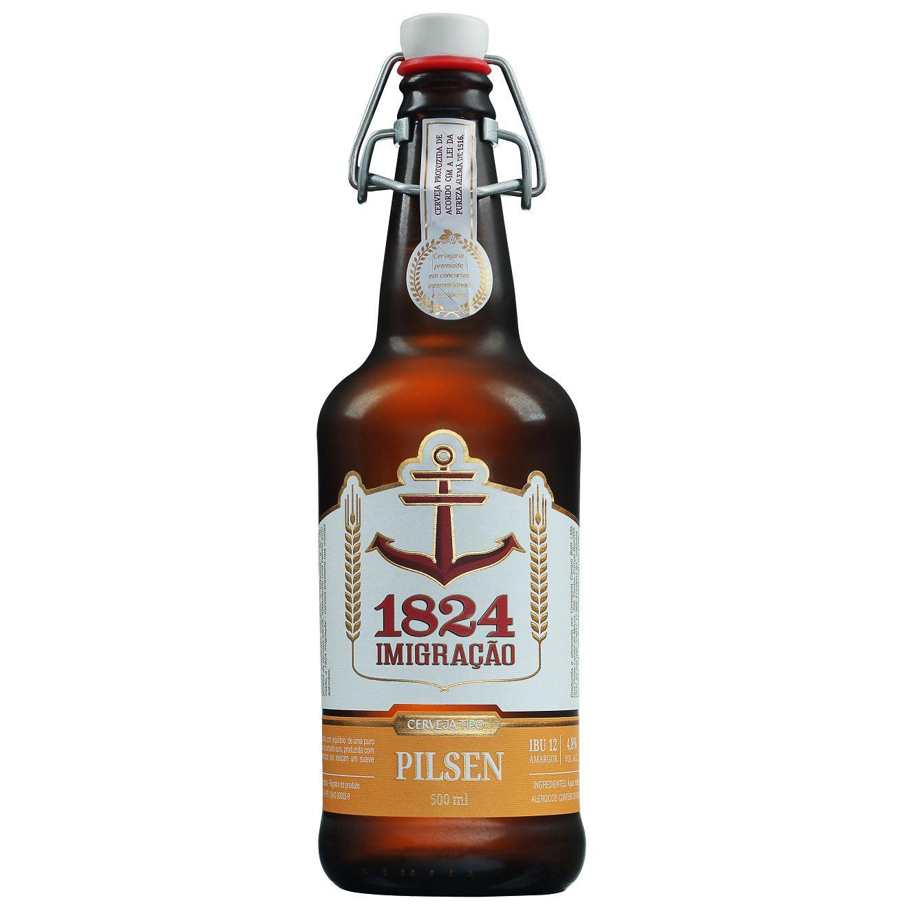 Cerveja Imigração Pilsen 500ml