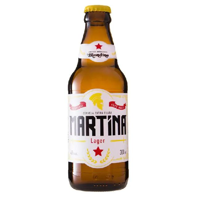 Cerveja Martina Lager 300ml