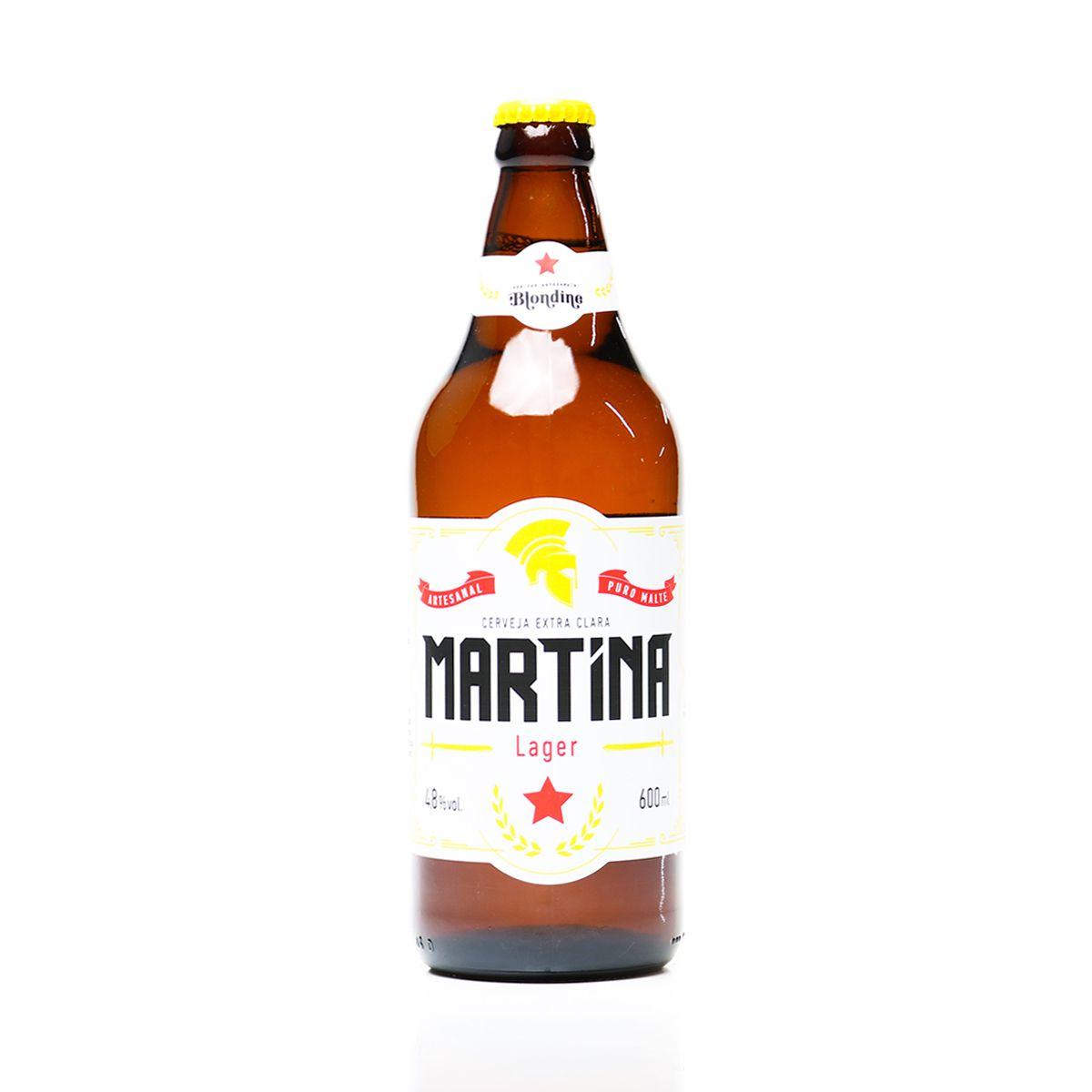Cerveja Martina Lager 600ml