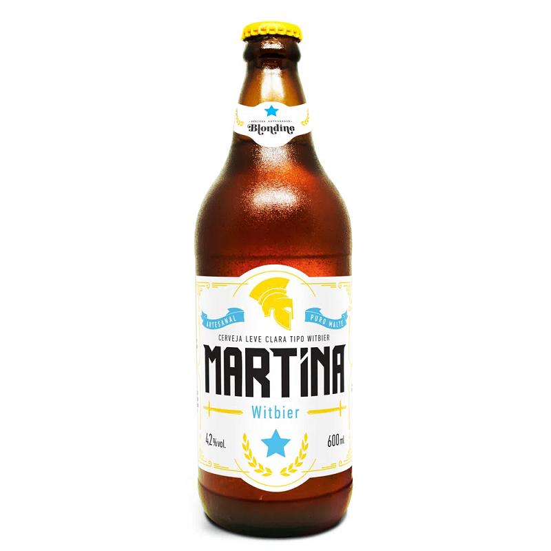 Cerveja Martina Witbier 600ml