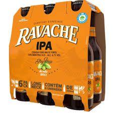 Cerveja Ravache IPA LN 355ml - Pack com 6 unidades