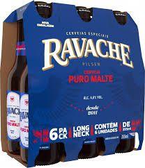 Cerveja Ravache Pilsern Puro Malte LN 355ml - Pack com 6 unidades