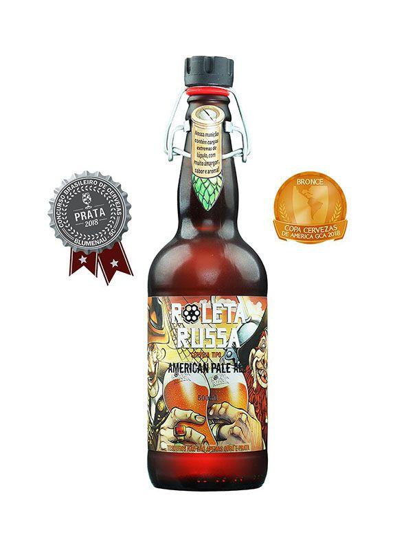 Cerveja Roleta Russa APA 500ml