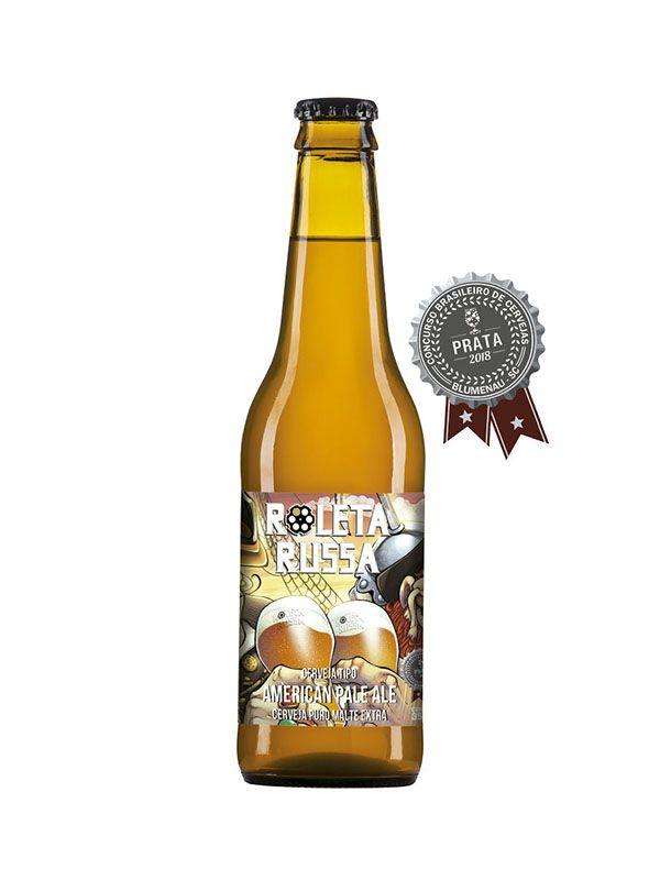 Cerveja Roleta Russa APA Longneck 355ml