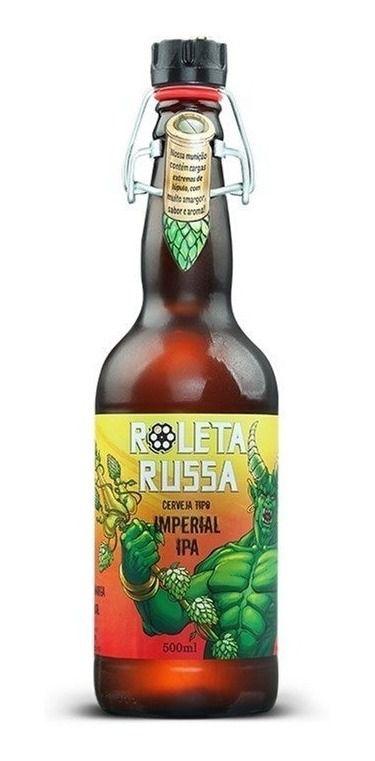 Cerveja Roleta Russa Imperial IPA - Diabo do Amargor 500ml