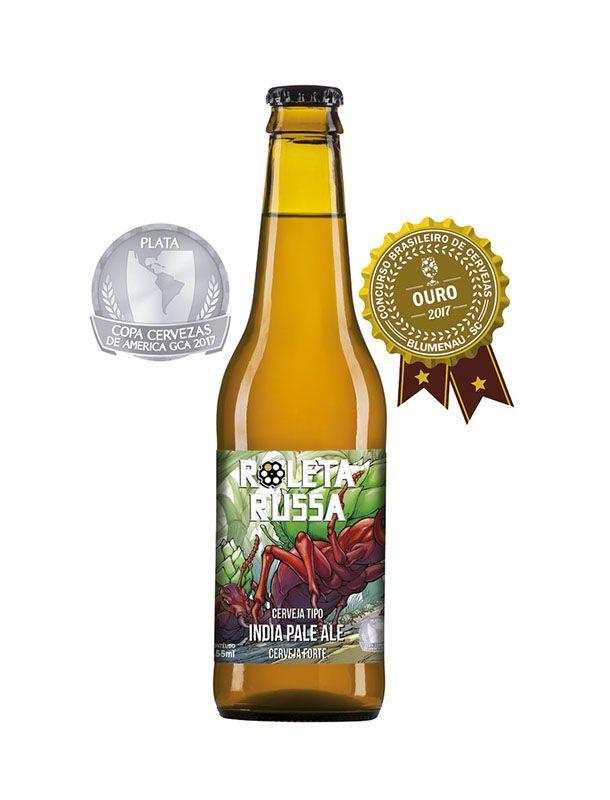 Cerveja Roleta Russa IPA Longneck 355ml