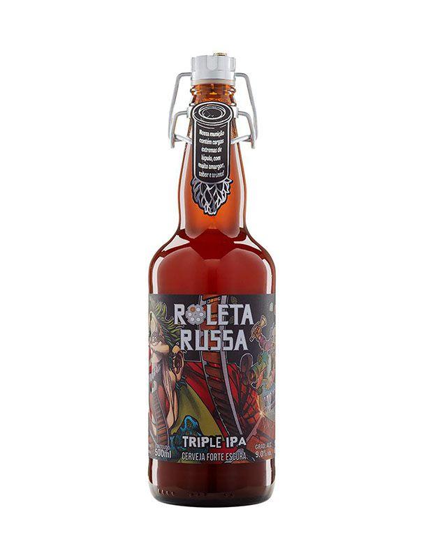 Cerveja Roleta Russa Triple IPA 500ml
