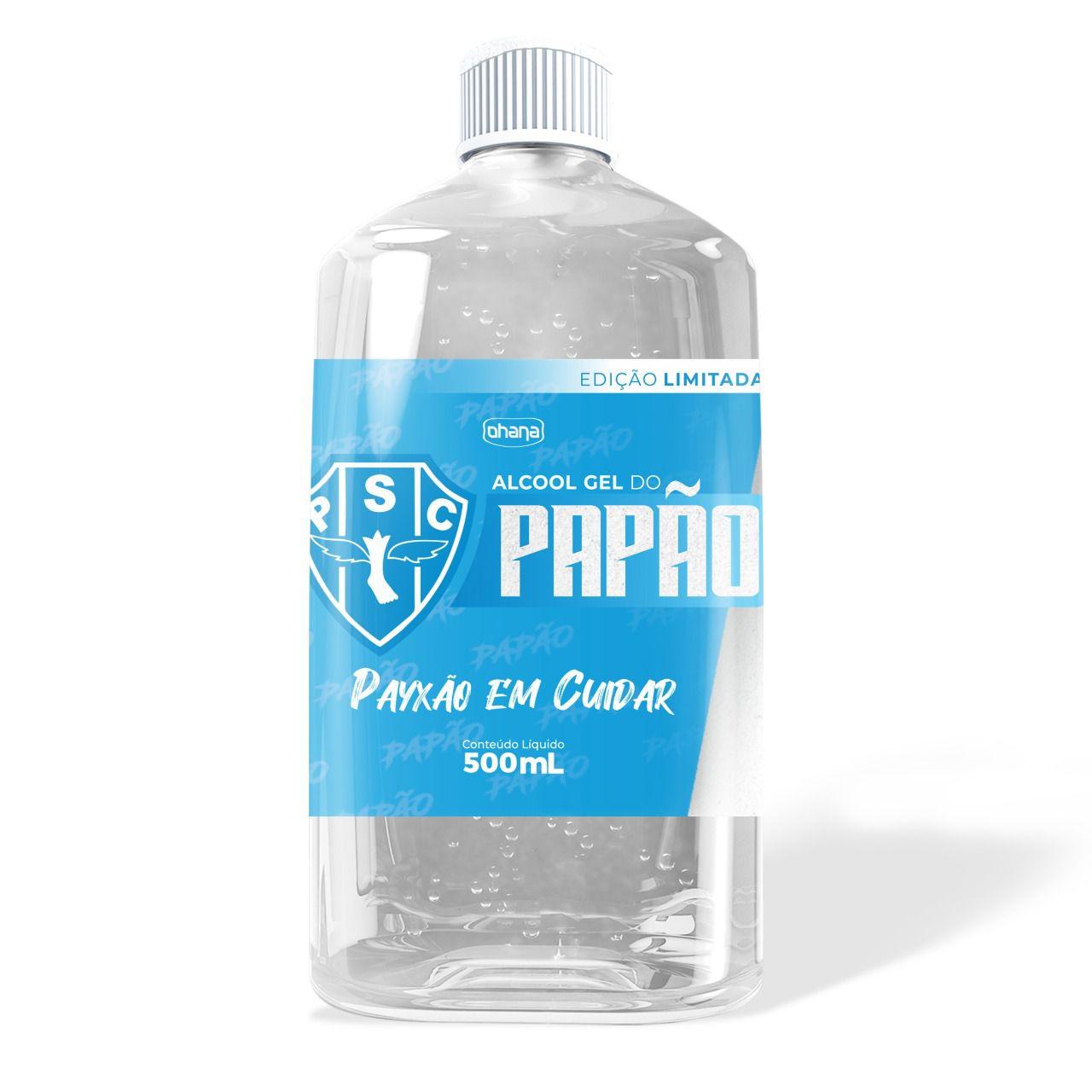 Kit com 12 unidades do gel antisséptico 70% do Paysandu