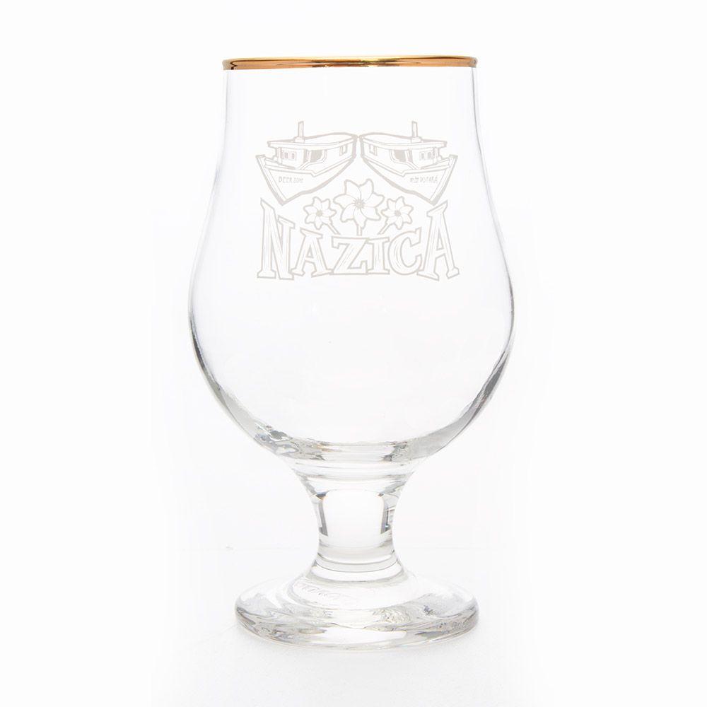 Taça cerveja Nazica branca