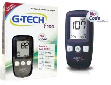 APARELHO DE GLICEMIA (KIT) FREE 1 - MGKTFR1 - G-TECH