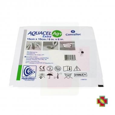CURATIVO AQUACEL AG+ EXTRA 15 X 15 CM UND - CONVATEC