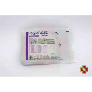 CURATIVO AQUACEL FOAM 10 X 10 CM S/ ADESIVO UND. 420633 - CONVATEC