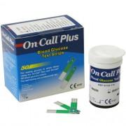 FITAS DE GLICEMIA ON CALL PLUS ONCALL - CX COM 50 UNDS - ONCALL