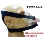 FIXADORES CEFÁLICO (FIX HOLDER) ADULTO  PRETO - RESMED