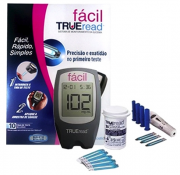 KIT MEDIDOR MONITOR DE GLICOSE TRUE READ - FACIL