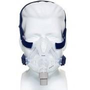 MÁSCARA PARA CPAP BIPAP FACIAL MIRAGE QUATTRO FX MÉDIA 61702 - RESMED