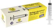 SERINGA DESCARTÁVEL 05 ML S/AG SLIP (C/100) DESCARPACK