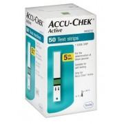 TIRAS DE GLICEMIA  ACCU CHECK ACTIVE CX COM 50 UNDS - ROCHE