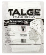 TOUCA DESCARTÁVEL TNT (100 UNID) - TALGE