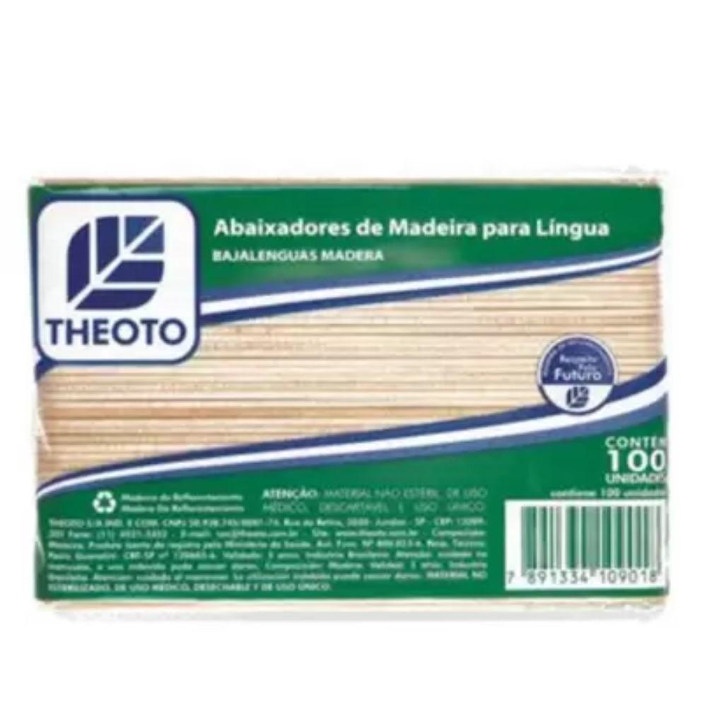 ABAIXADOR DE LINGUA (C/100) - THEOTO