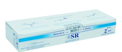 AGULHA DESCARTÁVEL 25 X 7,0 (C/1000) SR