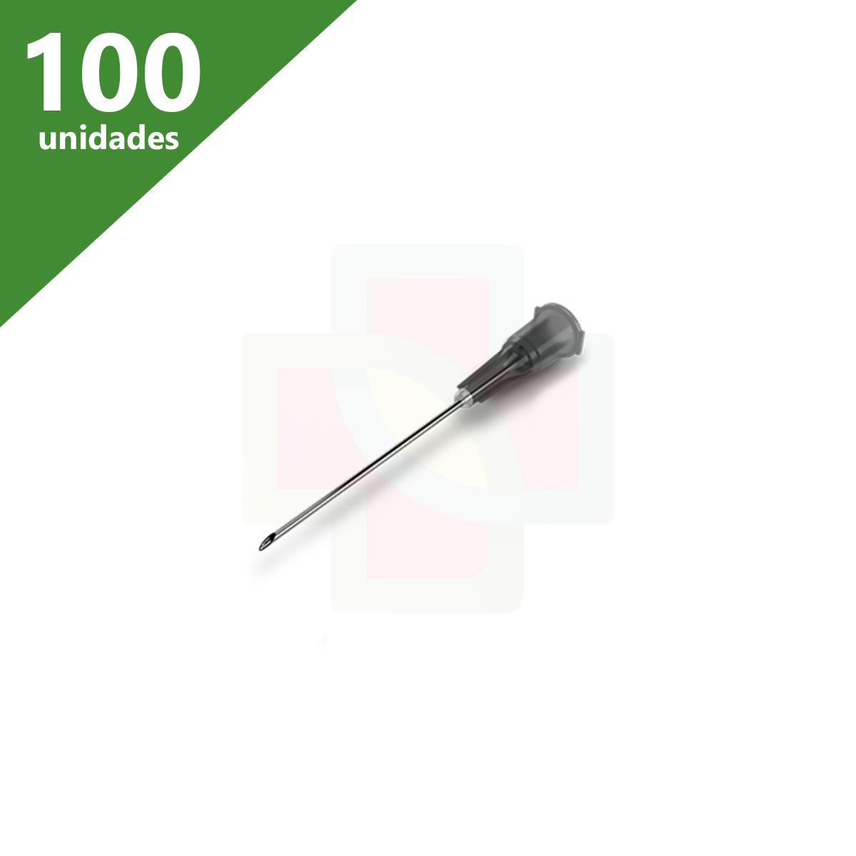AGULHA DESCARTÁVEL 25 X 7,0 (C/100) DESCARPACK