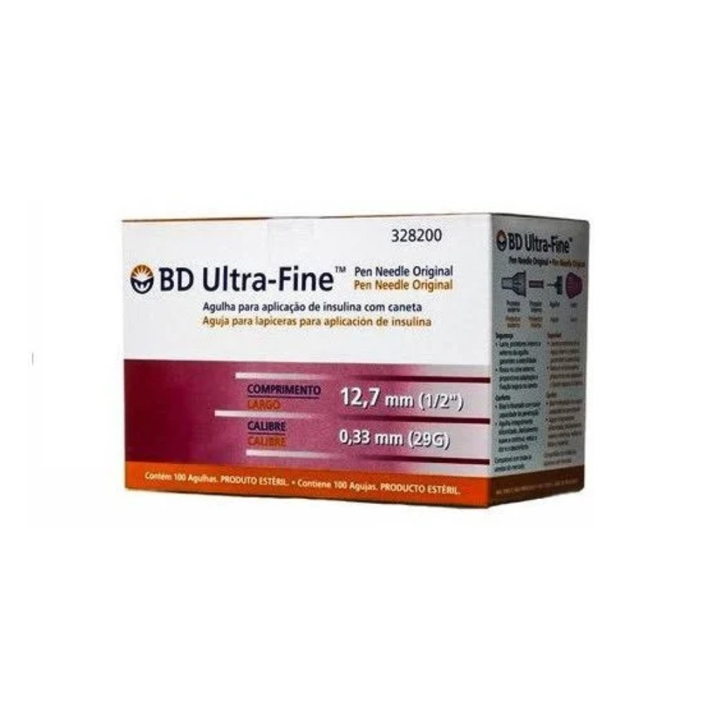 AGULHA ULTRA FINE 12,7MM X 0,33 MM (PCT C/10) BD