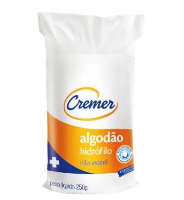 ALGODÃO CREMER HIDRÓFILO ROLO 250G