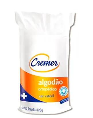 ALGODÃO ORTOPÉDICO 420 G PCT C/20  - CREMER