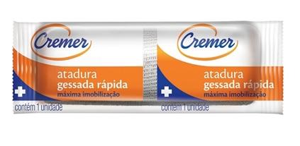 ATADURA GESSADA 10CM X 3,0MTS CREMER