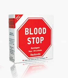 BANDAGEM BLOOD STOP CONTÍNUO 500 BEGE (CX C/500 UND) - AMP