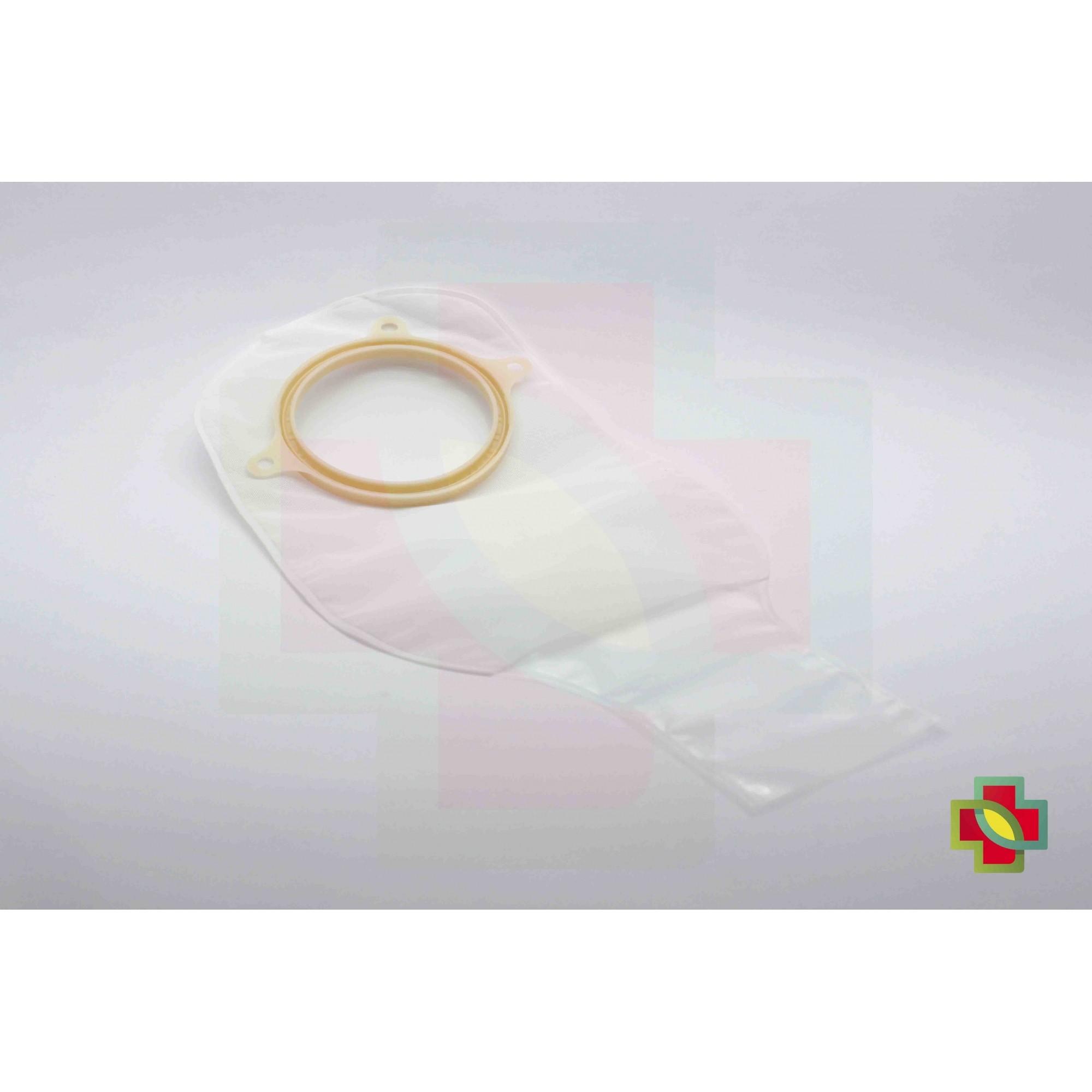 BOLSA DE COLOSTOMIA SUR-FIT PLUS 2 PEÇAS DRENÁVEL TRANSP.70MM (C/10 UNDS) 401604 - CONVATEC